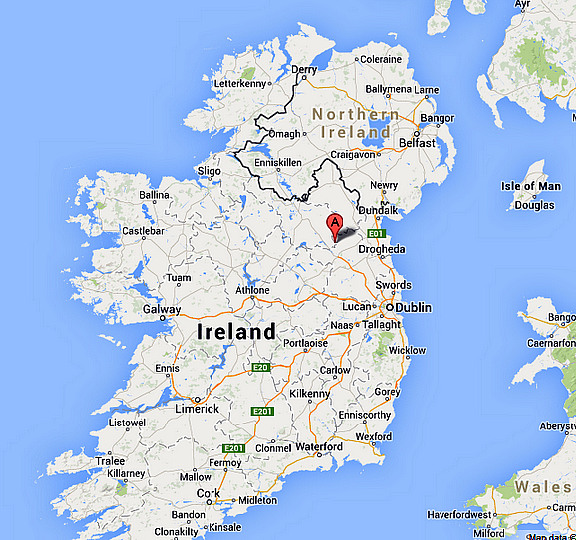 Map Of Ireland Cavan.Location
