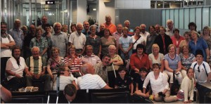 A group of Mullagh Pilgrims who visited Wurzburg in July 2013
