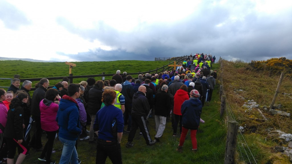 Stations of the Cross on Mullagh Hill